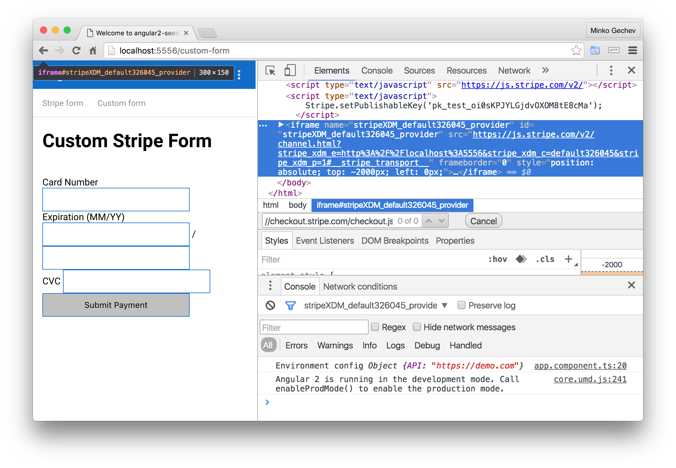 Using Stripe with Angular · Minko Gechev's blog
